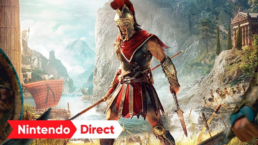 ACOdyssey para Nintendo Switch saldrá en Japón