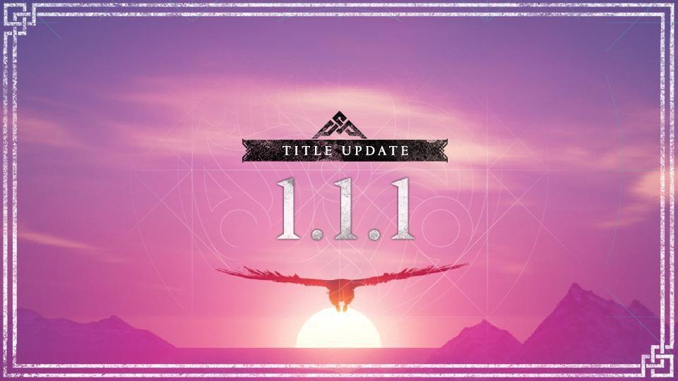 Actualización 1.1.1 para Assassin's Creed Valhalla