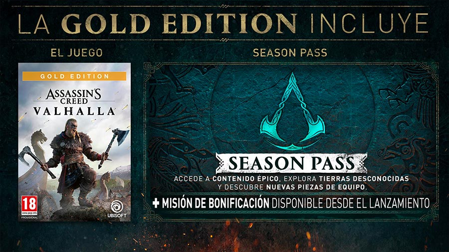 Gold Edition de AC Valhalla