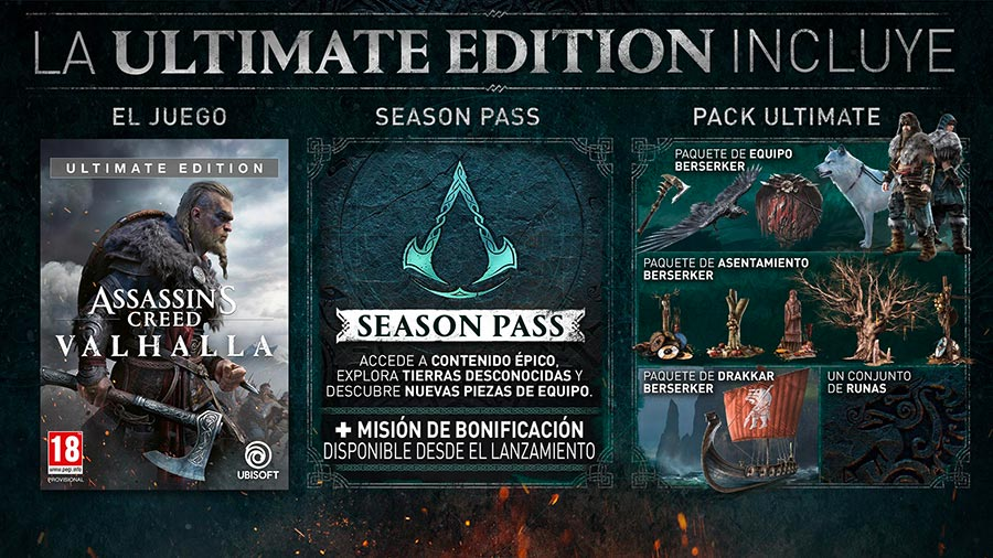 Ultimate Edition de AC Valhalla