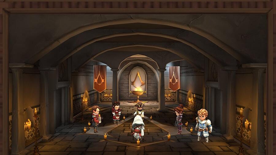 Salón Assassin en AC Rebellion