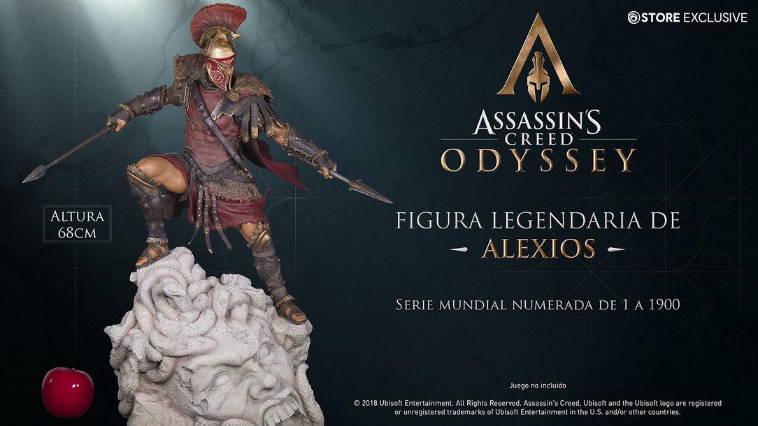 Figura legendaria de Alexios